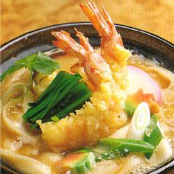 天ぷら味噌煮込みきしめん