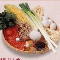 味噌うどんすき焼き鍋