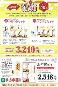 平成最後の福箱キャンペーン!限定各100個!!